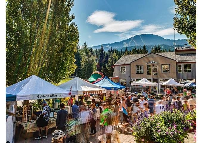 whistler, market, farmers, stop and store